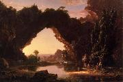 Thomas Cole Evening in Arcady painting